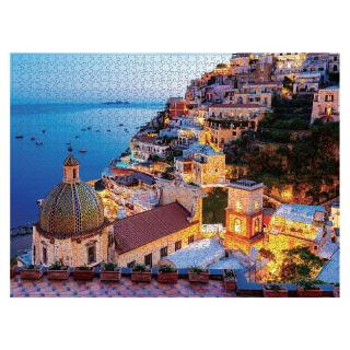 YOUN* Beautiful coast 1000Pc Jigsaw Paper Puzzles Educational Toys for adults Children