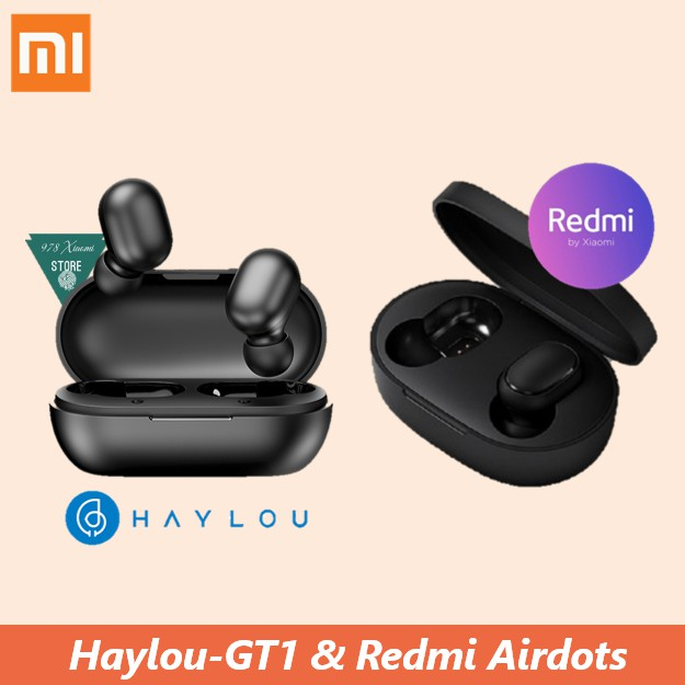 Tai nghe bluetooth Xiaomi Redmi Airdots True Wireless - Tai nghe bluetooth True wireless Xiaomi Haylou GT1