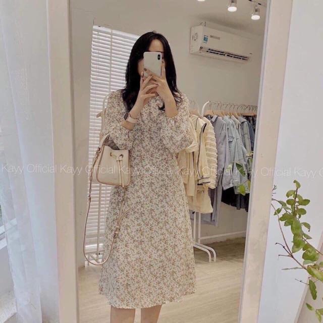 [HÀNG MỚI VỀ] Váy hoa nhí trắng vintage