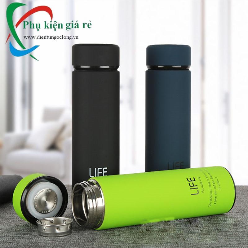Bình Giữ Nhiệt LIFE Vacuum Flask 500ml Chính Hãng - 2657572 , 1122764095 , 322_1122764095 , 195000 , Binh-Giu-Nhiet-LIFE-Vacuum-Flask-500ml-Chinh-Hang-322_1122764095 , shopee.vn , Bình Giữ Nhiệt LIFE Vacuum Flask 500ml Chính Hãng