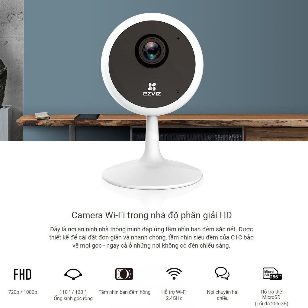 Camera không dây Ezivz C1C 1080p nhỏ mà có võ
