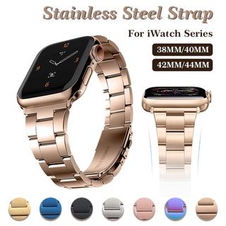Dây Đeo Inox Cho Đồng Hồ Apple Watch Series 6 Se 5 4 3 2 1 38mm 40mm