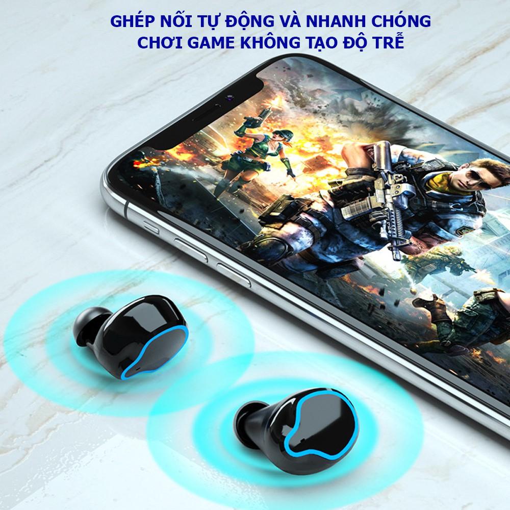 Tai nghe bluetooth M9, Tai nghe không dây âm thanh chất lượng cao phù hợp với nhiều dòng điện thoại