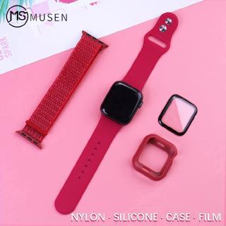 Set 4 Dây Đeo Thay Thế Chất Liệu Nylon Cho Apple Watch 5 4 3