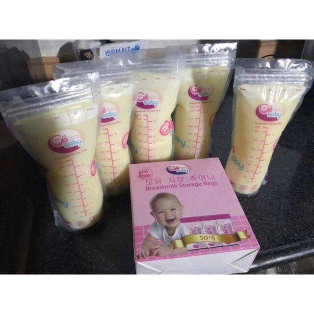 Túi trữ sữa GB Baby 1 hộp 50 chiếc