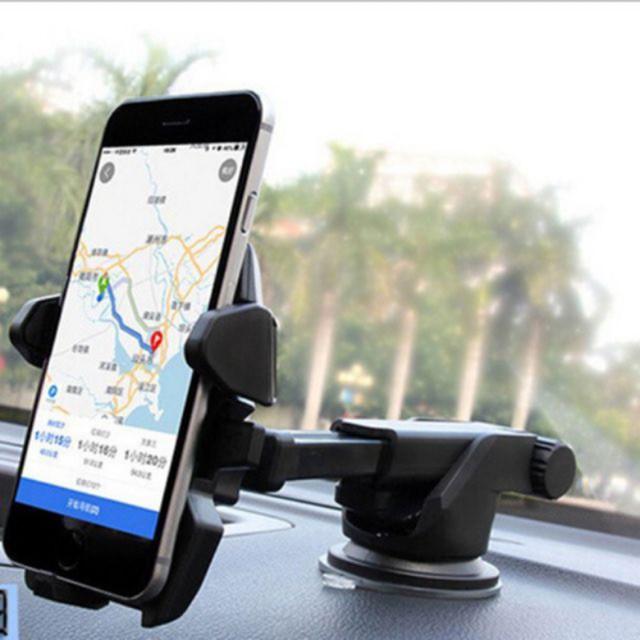Giá đỡ kẹp điện thoại trên ô tô kéo dài, thu hẹp