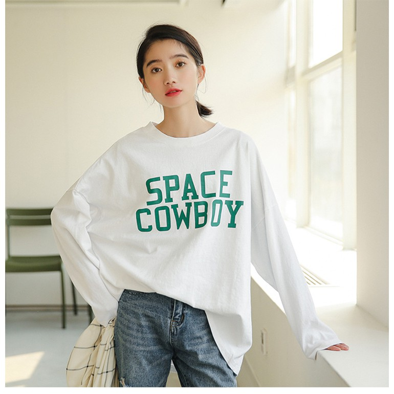 [ORDER] ÁO NỈ DÀI TAY SPACE COWBOY CHUẨN HÀNG QUẢNG CHÂU   SaleOff247