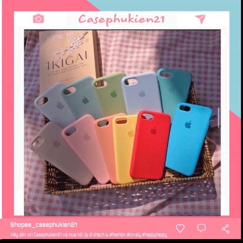 ỐP LƯNG CHỐNG BẨN LOGO TÁO♥️ FREESHIP 50k♥️- ỐP IPHONE-Casephukien21