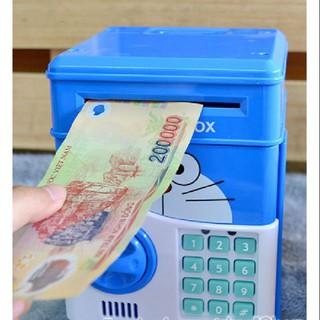 Két sắt hình thú vặn hút tiền tự động dễ thương dạy trẻ cách tiết kiệm tiền KP60119