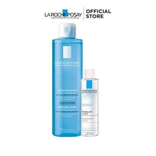Bộ sản phẩm nước cân bằng giàu khoáng dành cho da dầu La Roche-Posay Soothing Lotion Sensitive Skin thumbnail