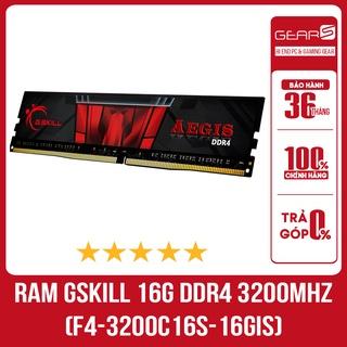 Ram Gskill 16G (1X16GB) DDR4 3200MHz (F4-3200C16S-16GIS) - Bảo hành chính hãng 36 Tháng thumbnail
