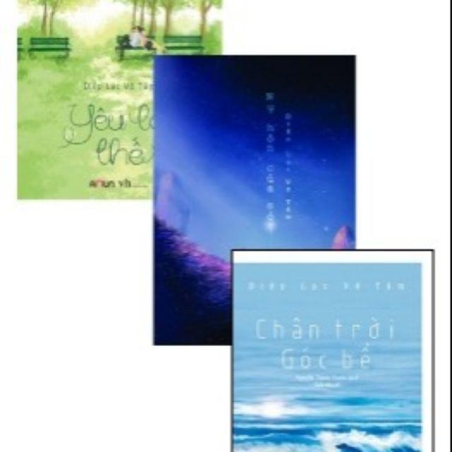 sách- Combo 3 cuốn Yêu Là Thế - Chân Trời Góc Bể - Nụ Hôn Của Sói