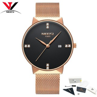 Đồng hồ nam dây lưới thép cao cấp Nibosi 2323 (fullbox) thumbnail