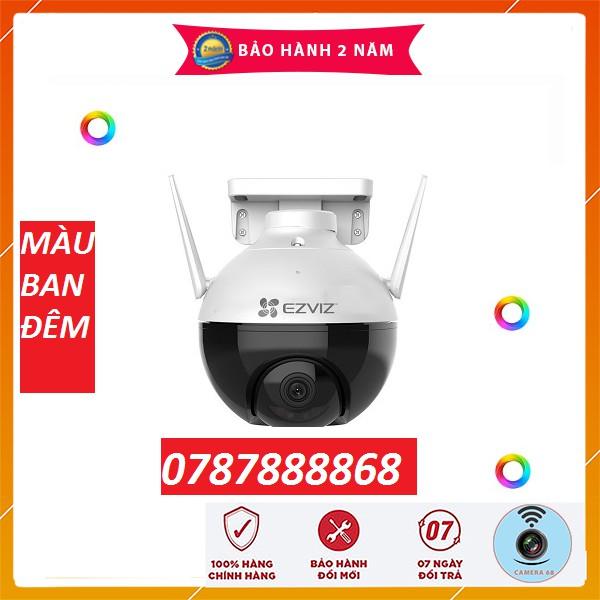 Camera 2M WIFI (Xoay) Ngoài Trời EZVIZ C8C Màu Ban Đêm Thông Minh 1080P c3wn c3w c6n c6cn c1c a22ep c22ep
