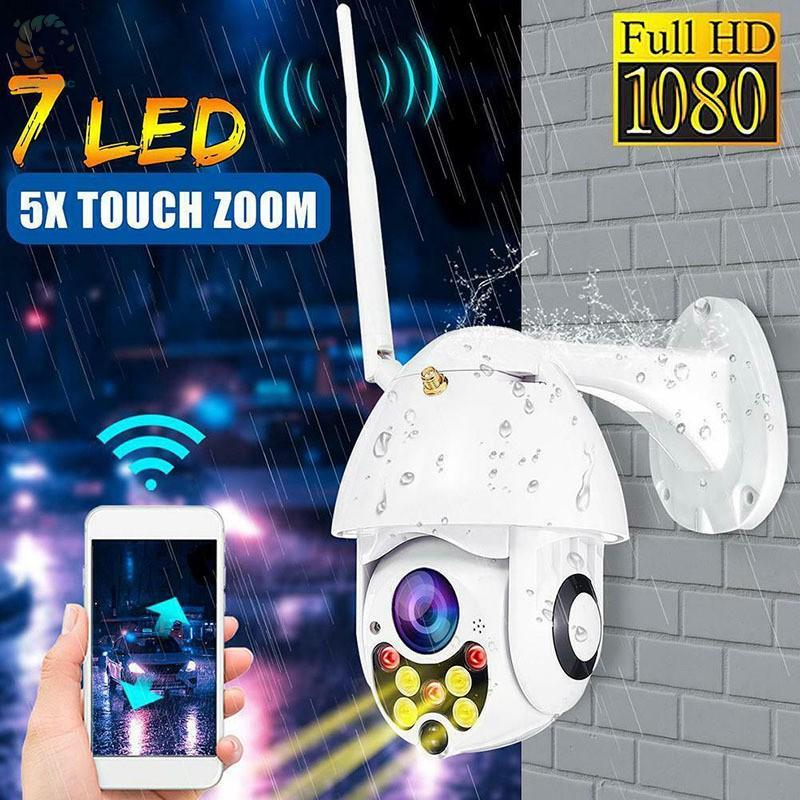[BEST] Outdoor Wireless Camera Wifi Waterproof HD 1080 Day Night Mode Camera