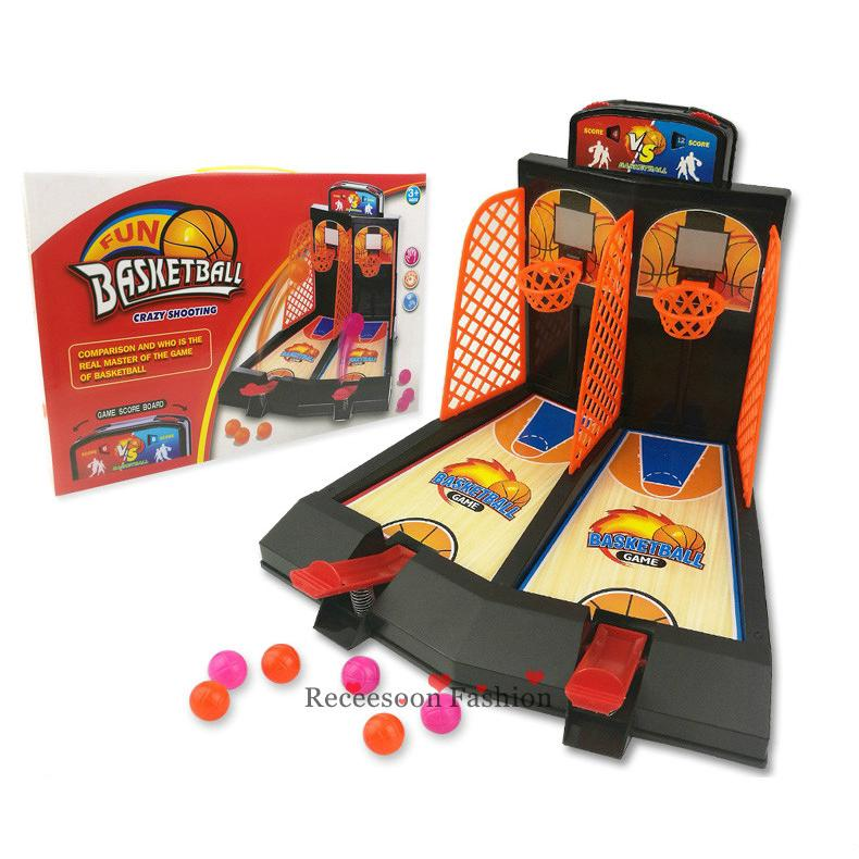 Basketball Shooting Game Party Desktop Games Interactive Toy Kids Adult Gifts