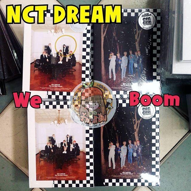 [พร้อมส่ง] อัลบั้ม NCT Dream - We Boom มีโปสเตอร์