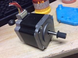 Động cơ bước 2A size 57(nema23) ,2 phase Japan Servo , step motor .