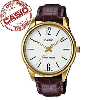 Đồng hồ nam dây da Casio Standard Anh Khuê MTP-V005GL-7BUDF