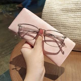 Hình ảnh Gọng kính cận vuông chất liệu nhựa dẻo phụ kiện thời trang nữ Lilyeyewear 210 nhiều màu-5
