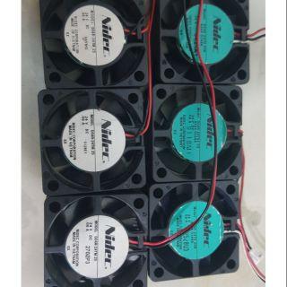 Quạt tản nhiệt Nidec 4 4 1.5 tháo máy Nhật 12-24V DC thumbnail