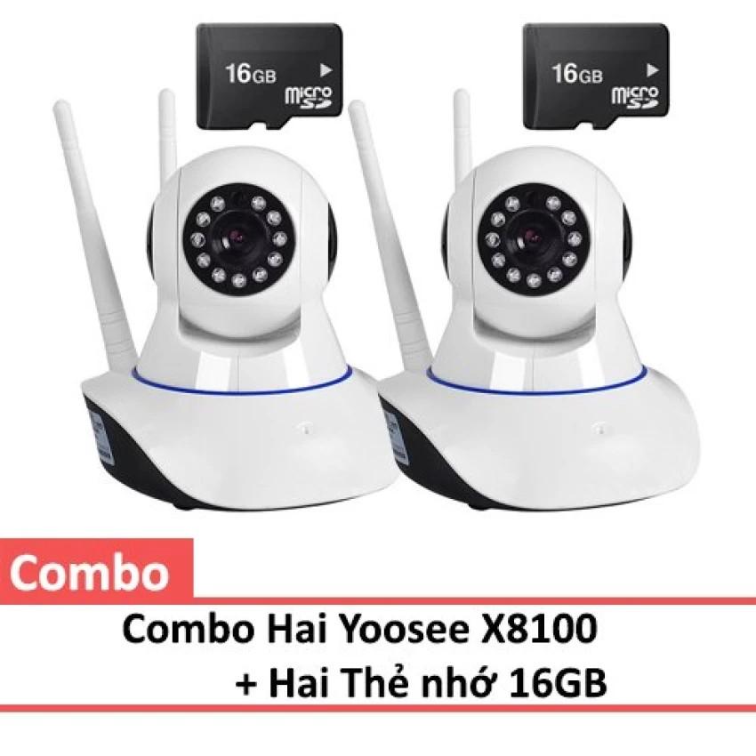 Bộ 2 Camera Yoosee X8100 kèm 2 thẻ nhớ 16GB - 2522241 , 317520161 , 322_317520161 , 999000 , Bo-2-Camera-Yoosee-X8100-kem-2-the-nho-16GB-322_317520161 , shopee.vn , Bộ 2 Camera Yoosee X8100 kèm 2 thẻ nhớ 16GB
