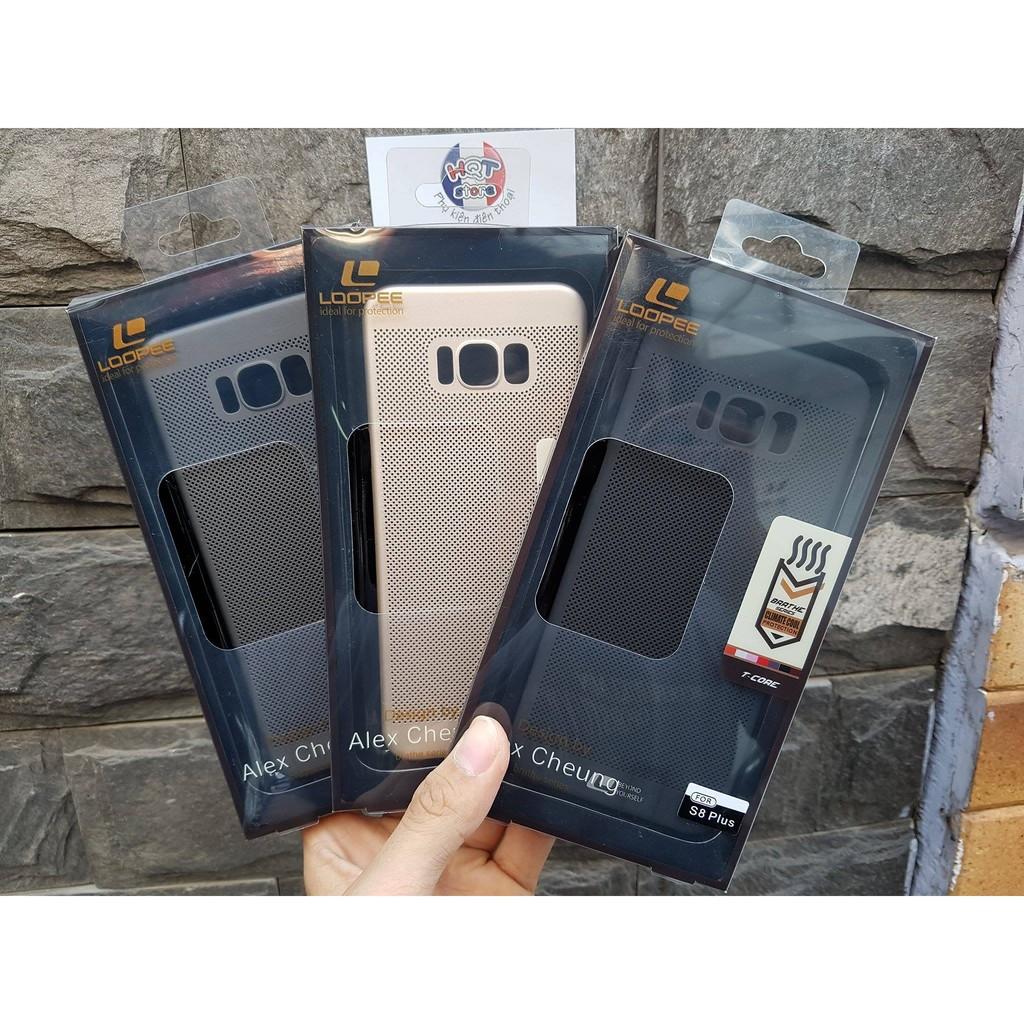 Ốp lưng lưới tản nhiệt Loopee Samsung S8 / S8 Plus - 2612610 , 225643339 , 322_225643339 , 140000 , Op-lung-luoi-tan-nhiet-Loopee-Samsung-S8--S8-Plus-322_225643339 , shopee.vn , Ốp lưng lưới tản nhiệt Loopee Samsung S8 / S8 Plus