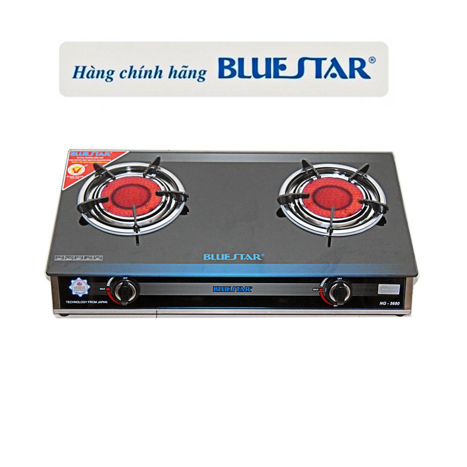 Bếp gas hồng ngoại Bluestar NG-5680C- Magneto 2 vòng lửa