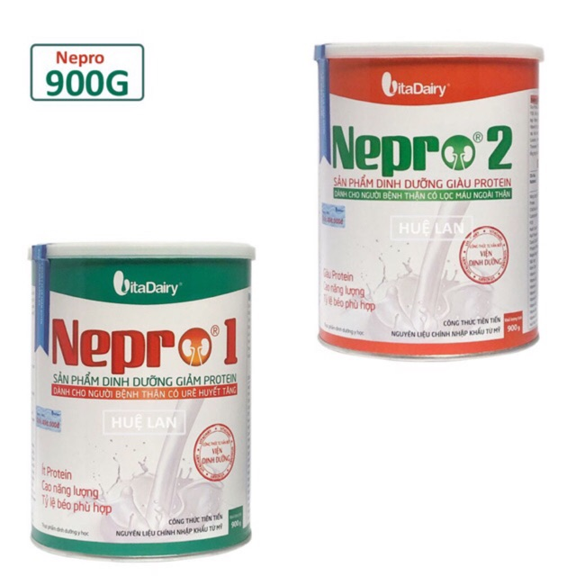 Sữa Nepro số 1,2 900g