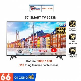 Smart Tivi Netflix 4K UHD Coocaa 50 inch Wifi - Model 50S3N (Model 2020) - Miễn phí lắp đặt thumbnail