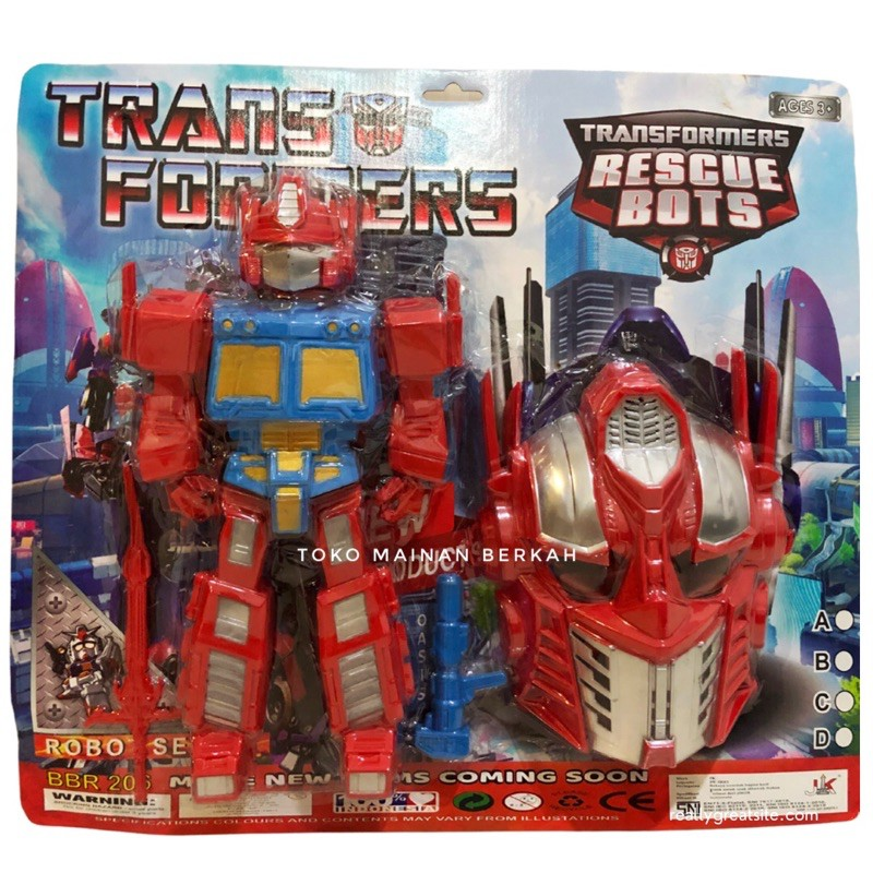 Transformer Toys Bộ Đồ Chơi Robot Biến Hình Optimus Prime