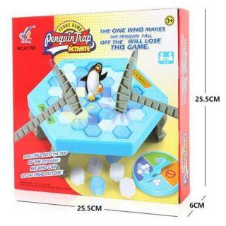 Hộp trò chơi đập chim cánh cụt
