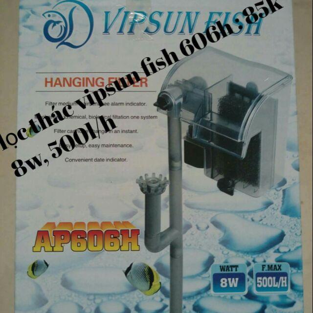 Lọc thác vipsun fish 303h ,606h
