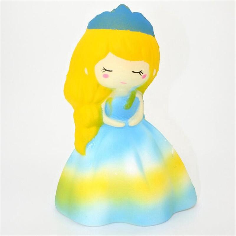 Đồ chơi bóp Squishy kiểu dáng công chúa với họa tiết hình cô dâu (xả bán)   botmau0654