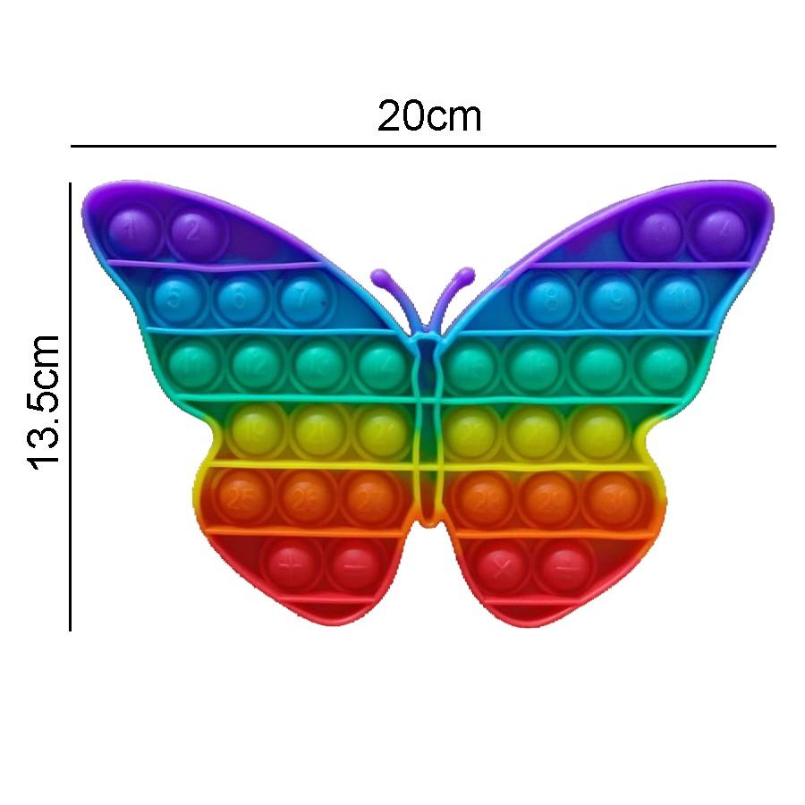 1 con bướm cầu vồng 20cm