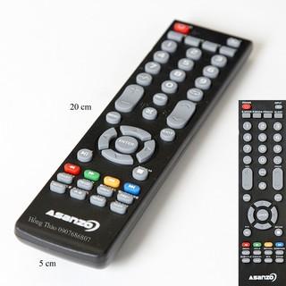 Remote Tivi Asanzo LCD