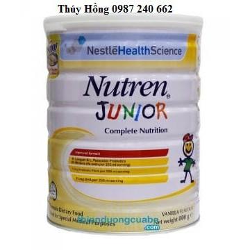 Sữa tăng cân Nutren Junior Thụy Sĩ 800g (dành cho trẻ 1-10 tuổi) sản phẩm dinh dưỡng y học