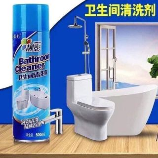 Chai xịt bọt tuyết vệ sinh toilet, phòng tắm Cleaner