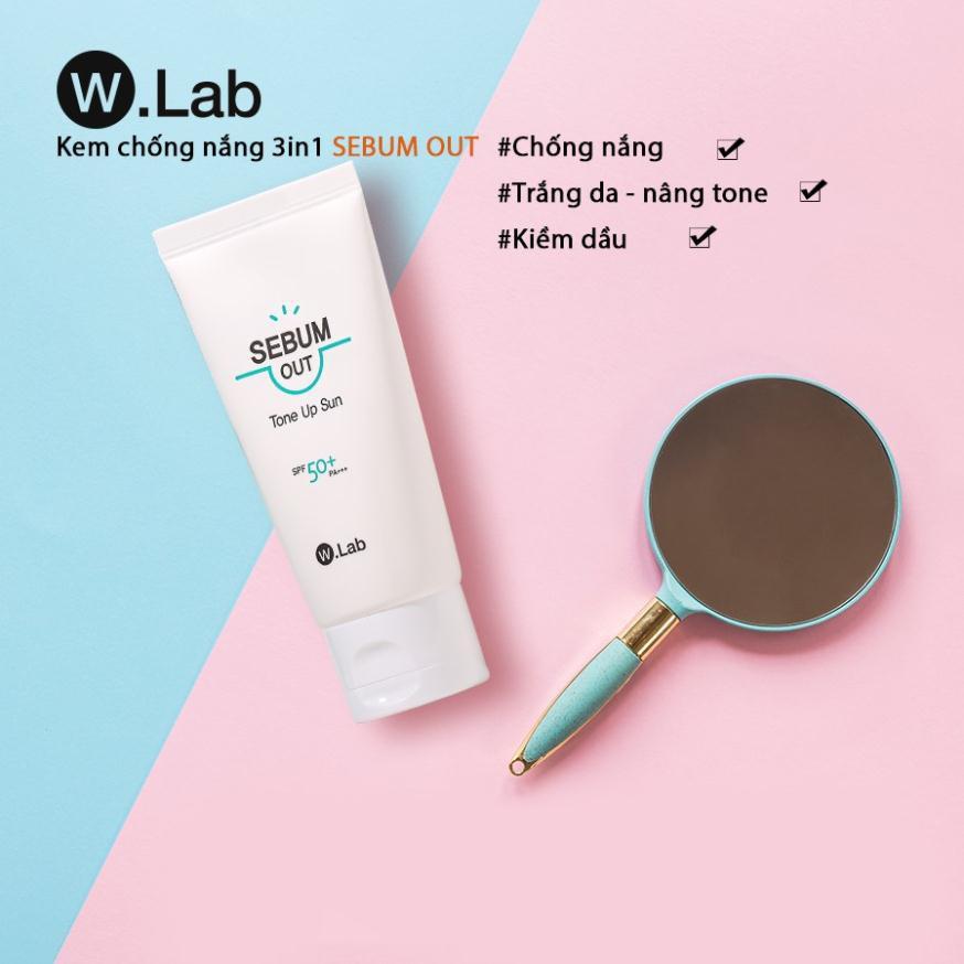 Kem Chống Nắng Tráng Da Kiềm Dầu Sebum Out W.Lab Hàn Quốc | Shopee Việt Nam