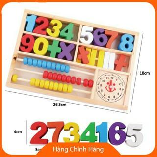 [Hỗ trợ giá] Đồ chơi giáo dục bằng gỗ dạng số_Hàng tốt