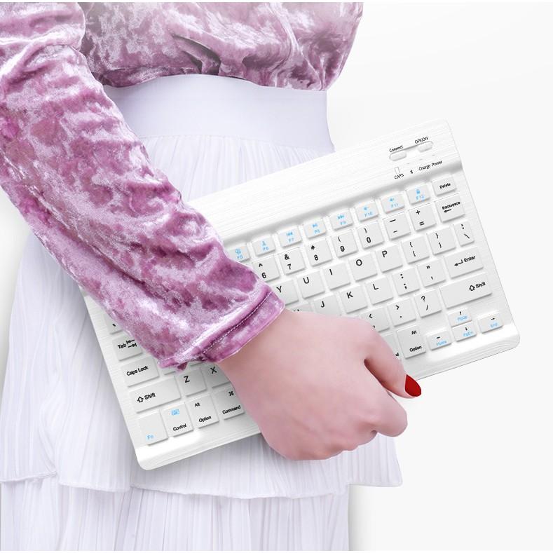 Bàn phím di động không dây Bluetooth chơi game PUBG kết nối PC , Android ,IOS Giá chỉ 270.000₫