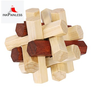 The intellectual power of adult children to unlock creative wood gifts disassemb