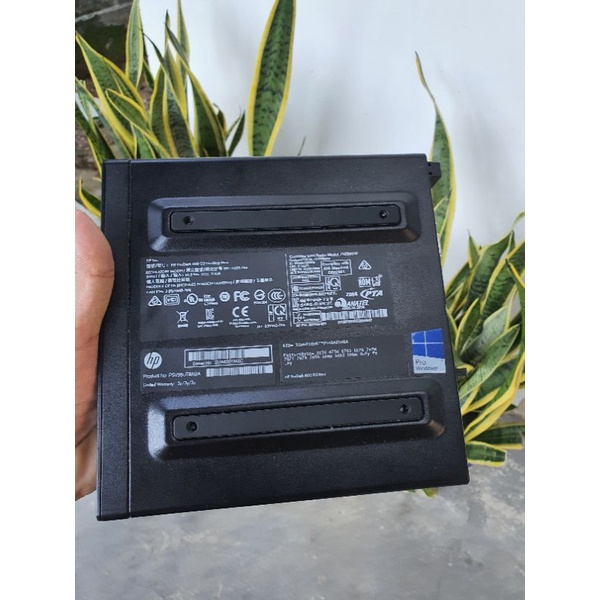 Máy tính HP Prodesk 600 G2 Destop Mini + Intel Core i5-6500T
