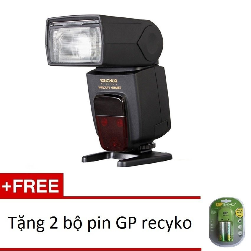 Đèn Flash Yongnuo YN-568EX for Canon/Nikon +2 bộ pin GPrecyko