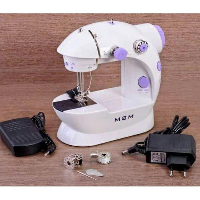 (SALE)Máy may mini có đèn và cắt chỉ.Hàng loại 1.
