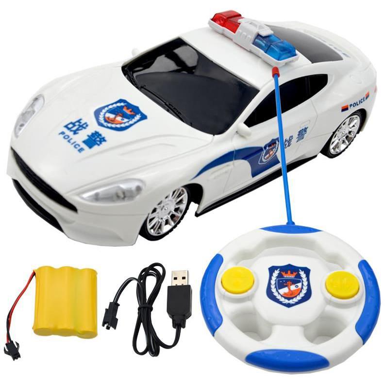 Xe ô tô cảnh sát điều khiển từ xa, oto điều khiển từ xa, xe cảnh sát điều khiển Jika...