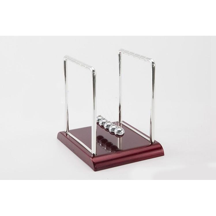 QUẢ LẮC Định Luật Vật Lí Newton Inox – Đồ Chơi Khoa Học Để Bàn Size 13.5Cm
