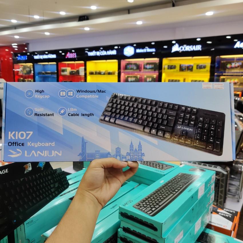 Bộ phím chuột Lanjun K107+M107