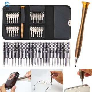 ✿♥▷ 25pcs Screwdriver Mini Repair Precision Tool Kit Set Portable For Eyeglasses Laptop Watch
