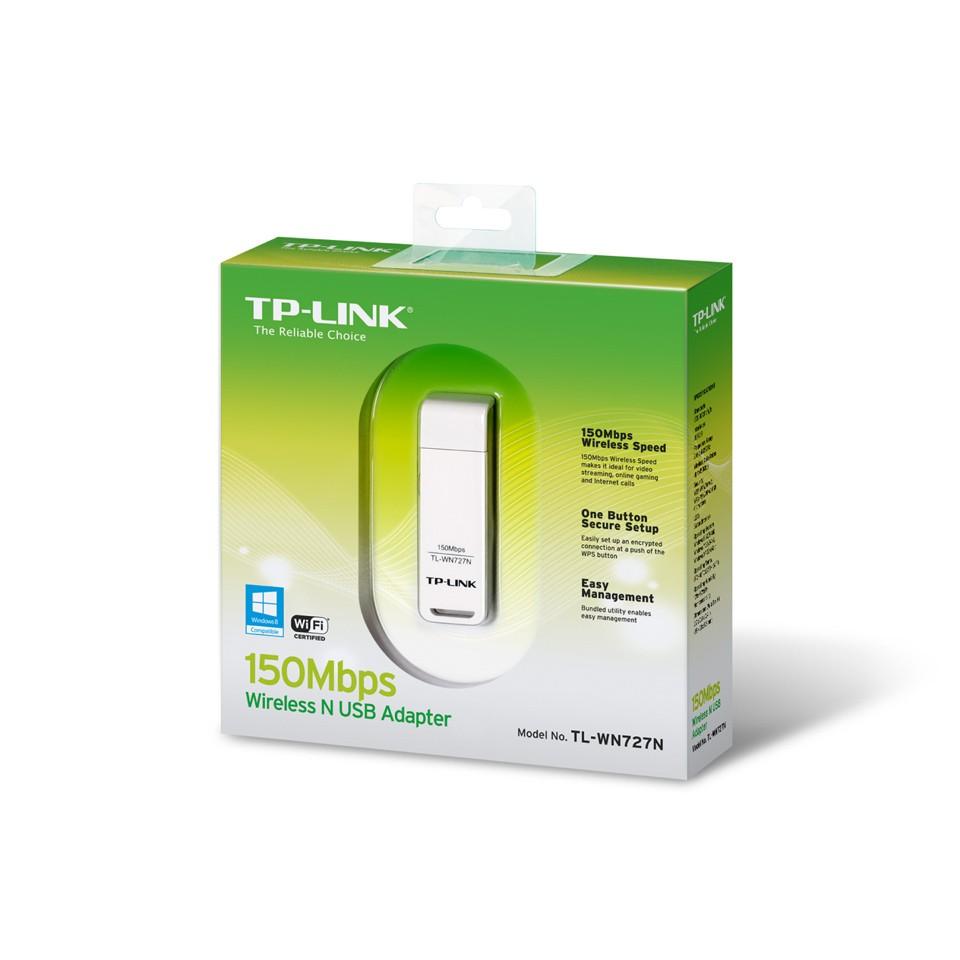 Bộ chuyển đổi USB Wifi TP-Link TL-WN727N Giá chỉ 800.000₫
